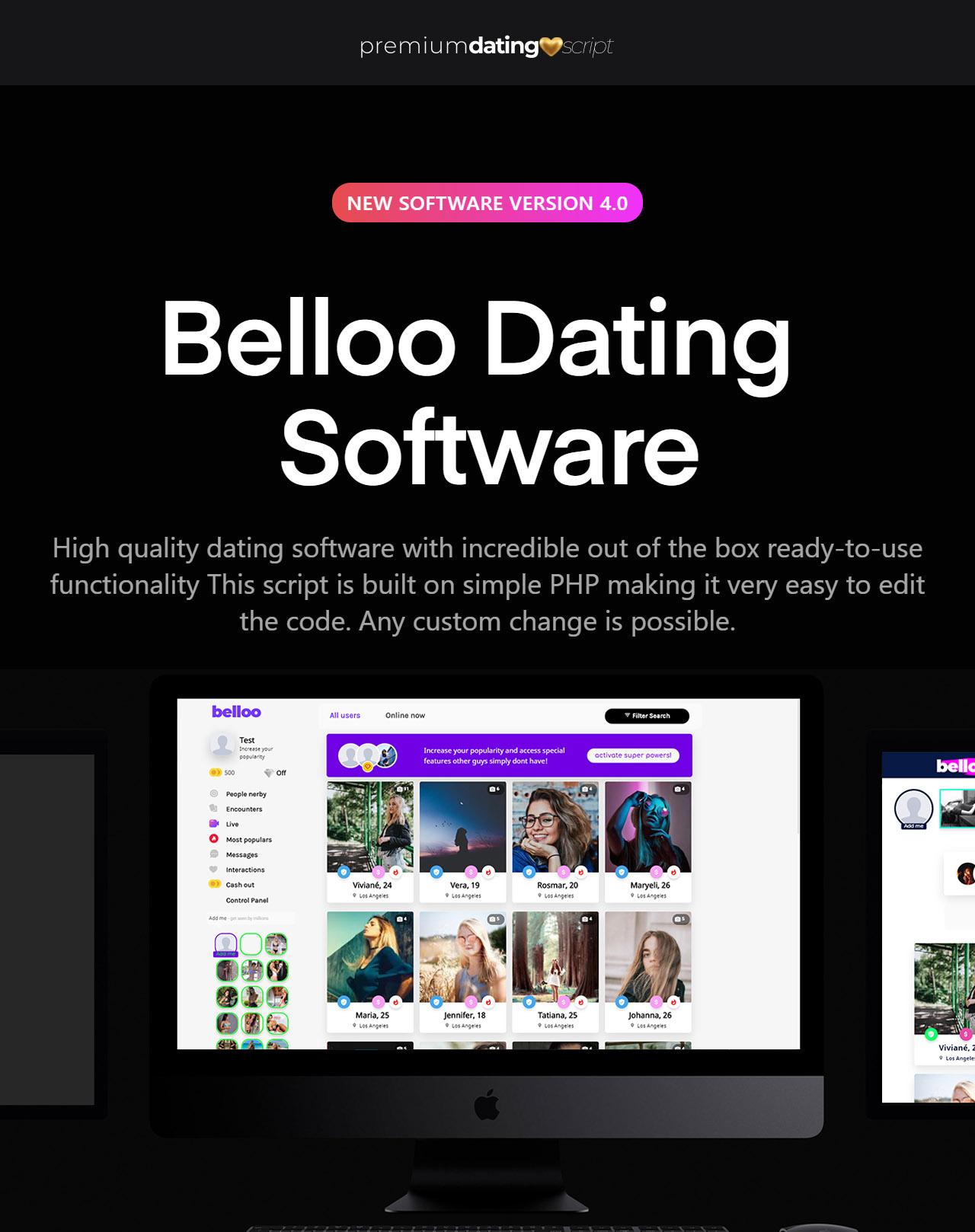 Live Streaming Agora.io - Belloo Dating Software - 3